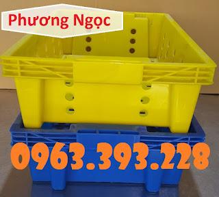Sóng nhựa rỗng HS002, sóng cá, sọt đựng hải sản, rổ đựng cá 53285ed4041fea41b30e-7163
