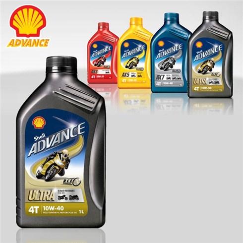 Thay nhớt Shell Advance chuyên dụng cho xe máy
