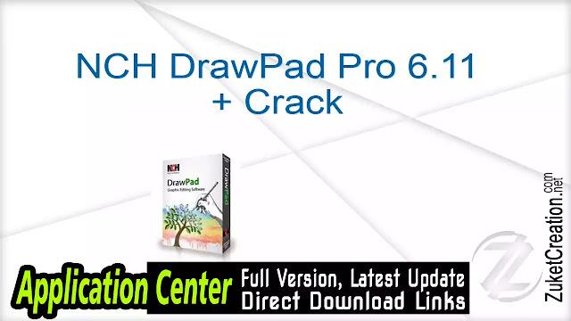 NCH DrawPad Pro 6.11 + Crack