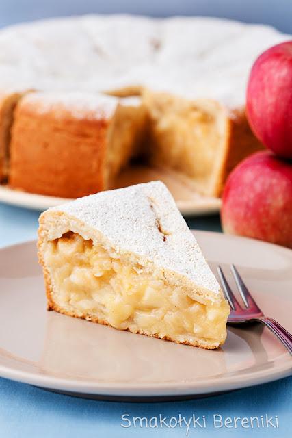 pyszny jabłecznik na kefirze