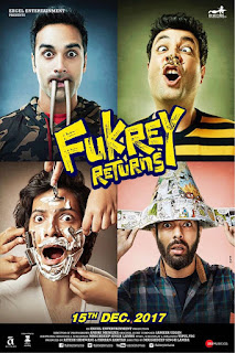 Fukrey Returns (2017) Hindi Movie 180Mb hevc HDRip