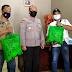 Kapolsek Tarumajaya Bagikan Bingkisan Lebaran Dan Masker, Ini Kata AKP Yudho