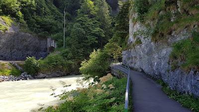 Eingang Aareschlucht bei Meiringent