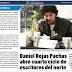 Daniel Rojas Pachas en Diario el Longino
