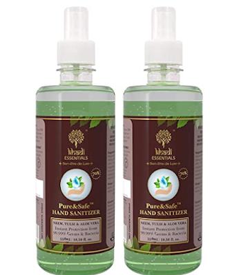 Khadi Essentials Pure&Safe Instant Hand Sanitizer