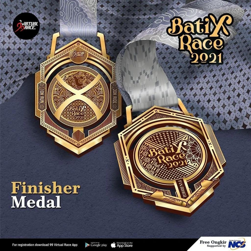 Medali � BatiXRace • 2021