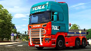 Toll paint job for Scania R SCS