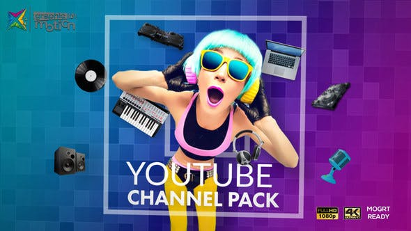 Videohive YouTube Channel Pack Free Download Videohive YouTube Channel Pack Free Download