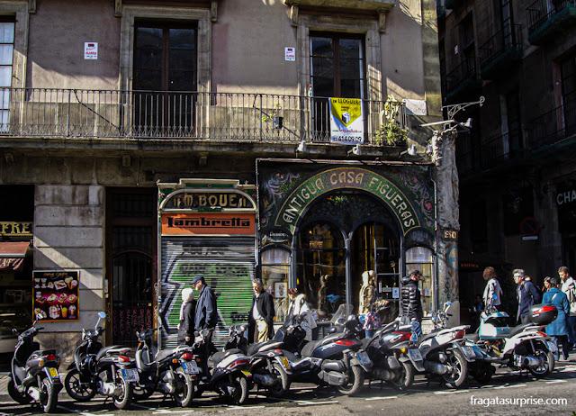 Antiga Casa Figueras, Modernismo nas Ramblas de Barcelona