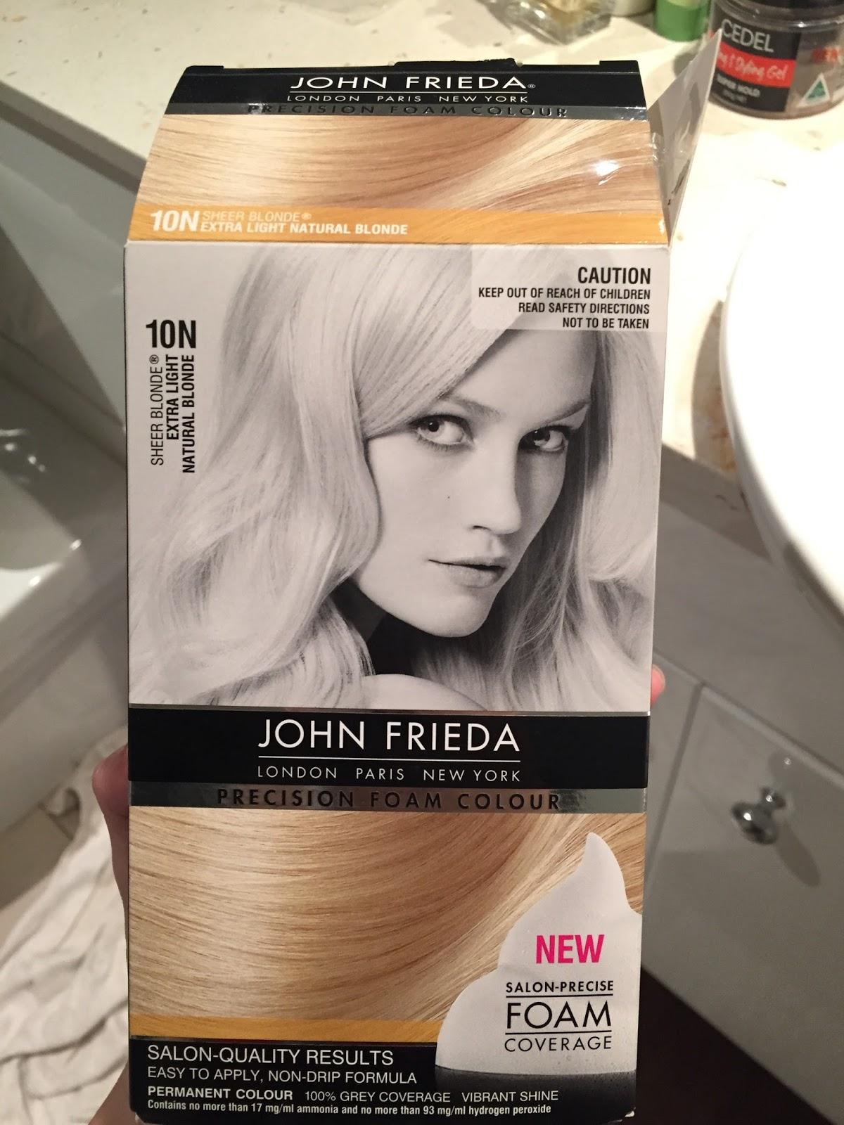 John Frieda Hair Color 10n Hairstyle Inspirations 2018