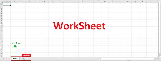 contoh sheet di microsoft excel