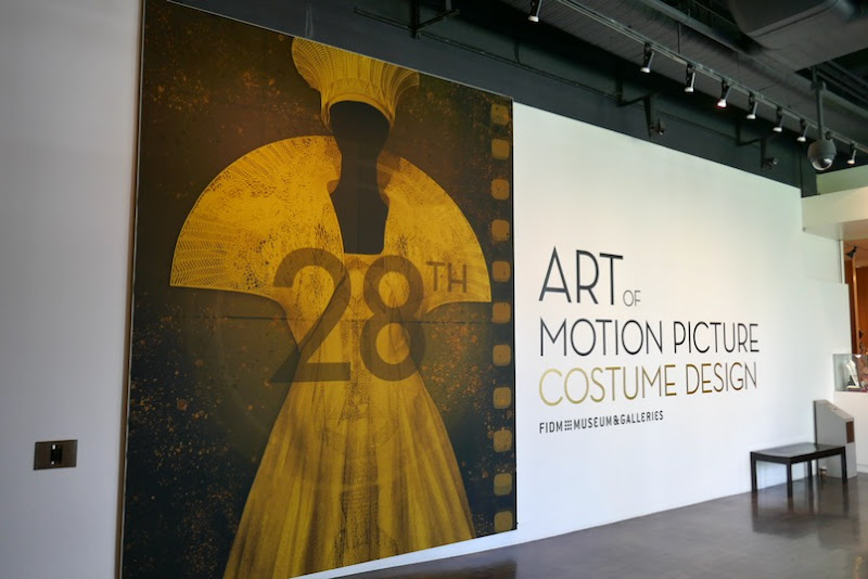 FIDM 28th Art Motion Picture Costume Design exhibit