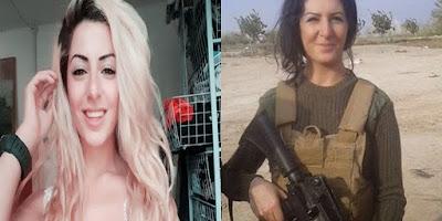 الحسناء الدنماركية التي ذهبت لقتال داعش ولما عادت لبلدها حدثت صدمة لن تتوقعها ابداً