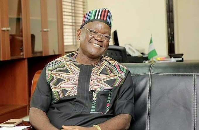 Benue State Governor - Some People Are Planning To Kidnap Me But God Would Not Allow That To Happen