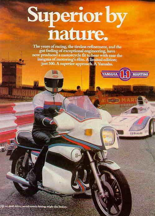 1979 Yamaha XS1100 Martini Limited Edition Touring Bike