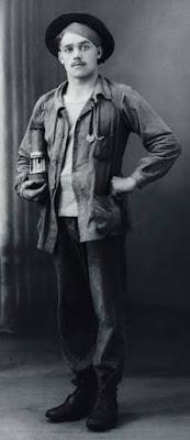 Jeune mineur polonais, 1920 (Musée de l'Histoire de l'Immigration)