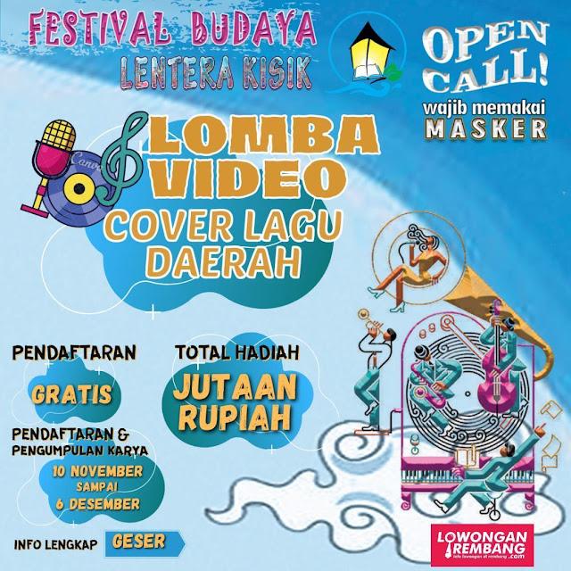 Lomba Video Cover Lagu Daerah Kabupaten Rembang