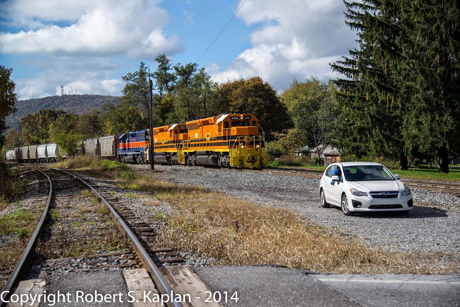 Capitol Limited: Railfanning the Maryland Midland