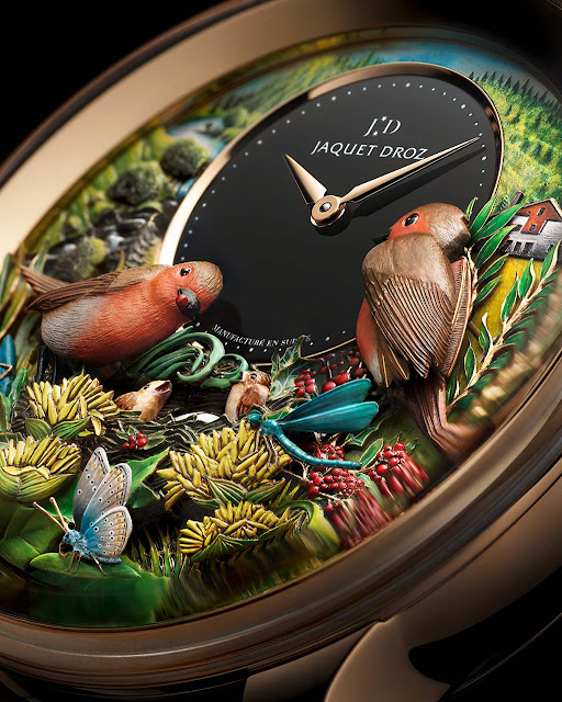 Jaquet Droz Bird Repeater 300th Anniversary Edition