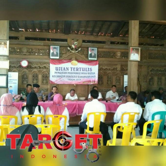 Uji Tertulis Pengisian Perangkat Desa Wotan Kecamatan Sukolilo, 3 Balon Kasi Pemerintahan Gagal