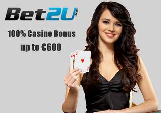 Bet2U no deposit bonus