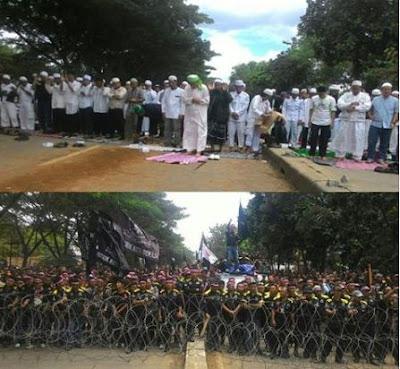 Habib Rizieq Diperiksa Polda, Kelompok GMBI Provokasi Massa FPI