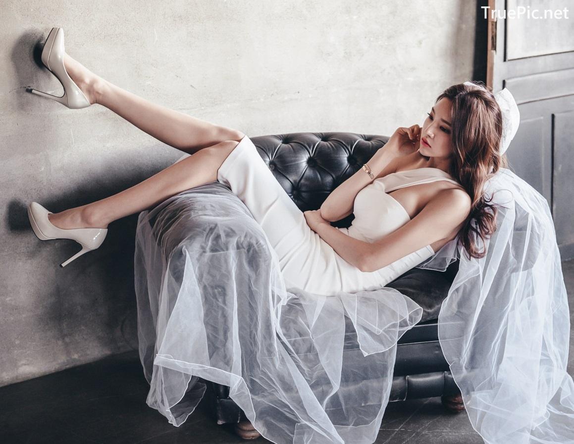 Image Korean Fashion Model - Park Jung Yoon - Wedding Dress Set - TruePic.net - Picture-7