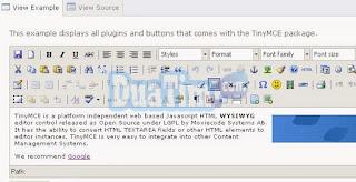 Teks editor html terbaik untuk website anda 2