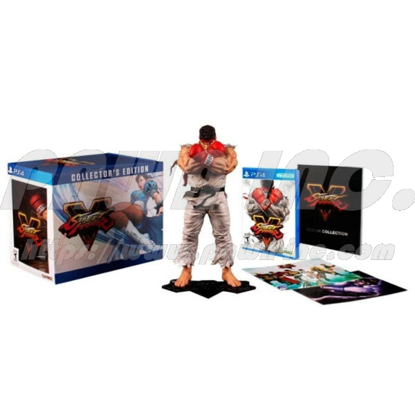 PS4 Street Fighter V - Collector's Edition