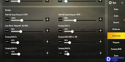 Cara Setting Sensitivitas PUBG Mobile Yang Baik dan Benar Ala Pro Player