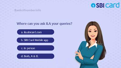 Regenerate SBI credit card PIN - SBI chatbot ILA