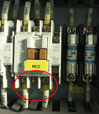 Контактор MC2