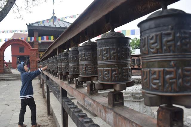 Swayambunaht Kathmandu nepal