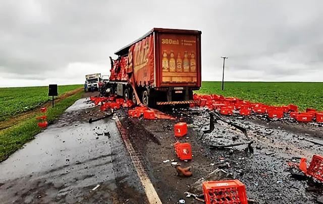 Justiça condena empresa a pagar R$ 320 mil e pensão à família de caminhoneiro de Marília morto em acidente