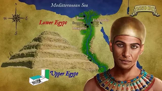 Ancient Egyptian Vizier Imhotep
