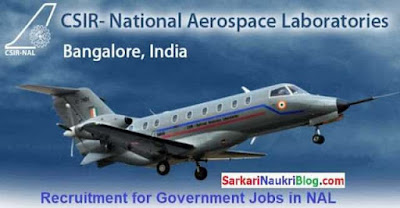 Government Jobs in CSIR NAL