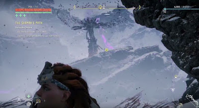 The Frozen Wilds, Horizon Zero Dawn, Override, Tower