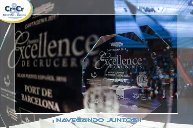 CARTAGENA ACOGERÁ LA GALA DE LA XI EDICIÓN DE LOS PREMIOS EXCELLENCE DE CRUCEROS