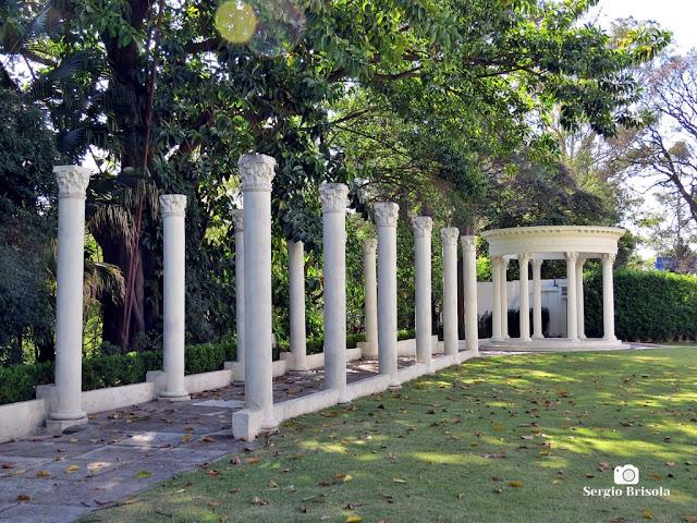 Palácio dos Cedros (Gazebo do Jardim posterior)