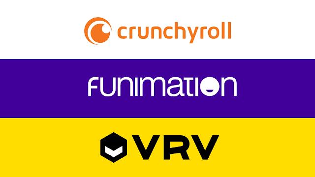 4. Crunchyroll, Funimation, VRV (Variable Pricing)