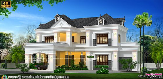 French Colonial home design