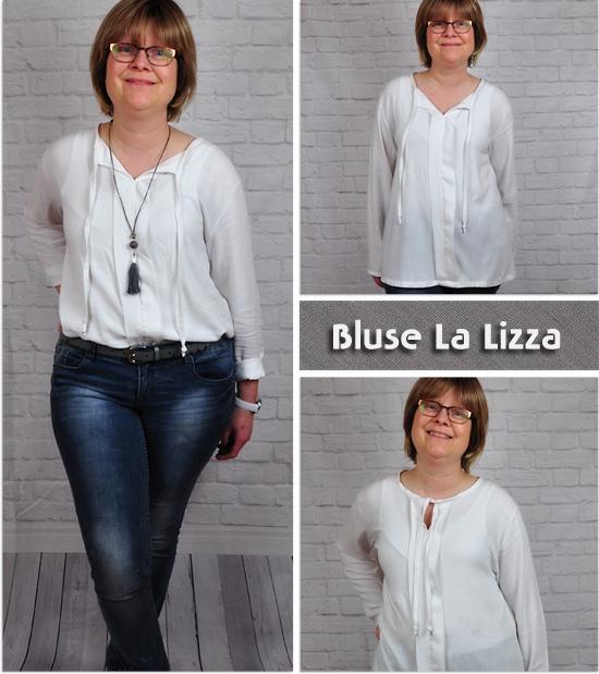 Bluse La Lizza by Schnittgeflüster