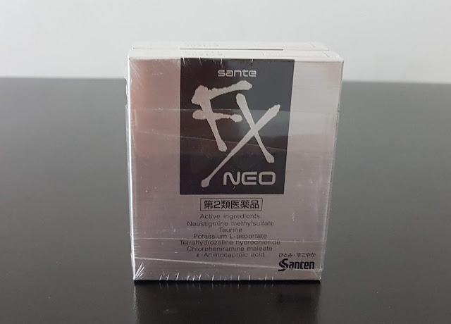 Nước nhỏ mắt Sante FX Neo, Hàng Nhật