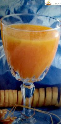 عصير الجزر بالمشمش