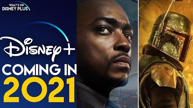 2021年Disney+獵鷹與酷寒戰士