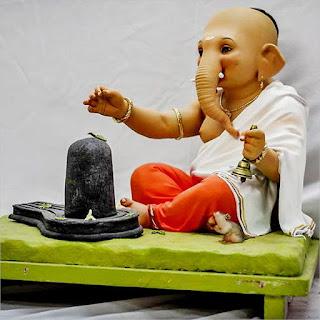 Bal Ganesh Murti By Vishal Shinde Murtikar HD Pictures