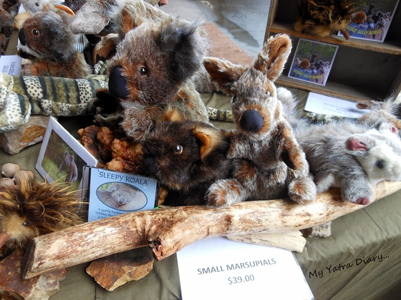 Stuffed Koala in Queen Victoria Market, Melbourne