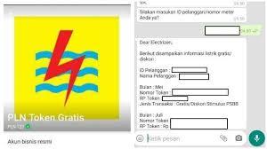 Token Listrik Gratis Pln Oktober 2020 Via Pln Co Id Wa Offline Aulaku Com Media Informasi Ter Update