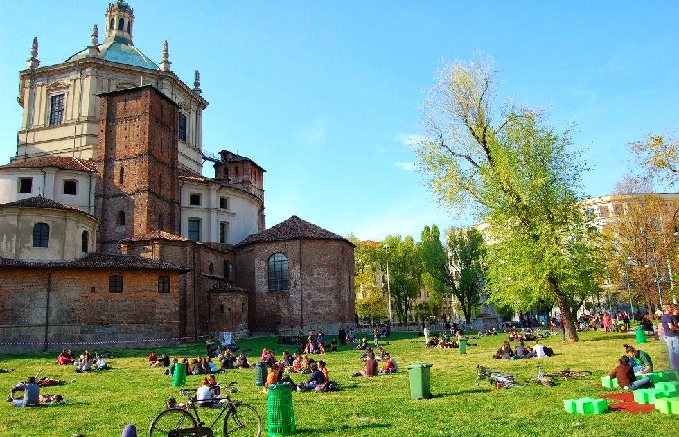 Parque Parco delle Basiliche em Milão