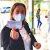 Fátima Gavioli destaca importância da vacina e do Sistema Único de Saúde (SUS), ao receber primeira dose de imunizante